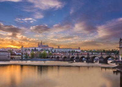 Prager Burg mit Karlsbrücke