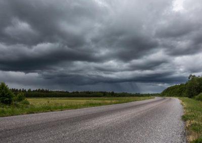 Gewitterwolken auf Saaremaa