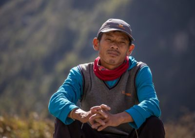 Junger Mann in Nepal