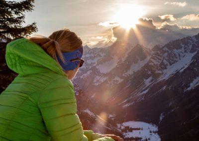 Sonnenuntergang Karwendel